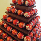 lindor chocolates pyramids stands for party events hire @elloirevents