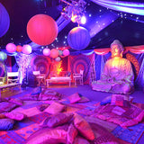 budhism decor themed parties @elloirevents