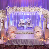 white wedding decorators and planners @elloirevents