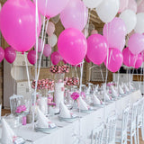 children's pink princess party decorators @elloirevents