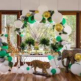 jungle themed childrens party decorators @elloirevents