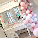 baby shower candy cart decorators hire @elloirevents