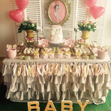 vintage old fashioned themed baby showers sweetie tables @elloirevents