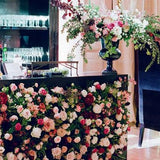 restaurant flower walls @elloirevents