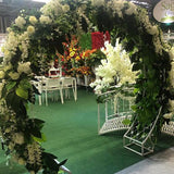 floral archway wedding decorations @elloirevents