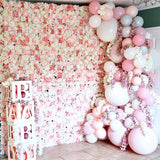 baby shower flower walls @elloirevents