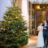 large christmas tree decorators for weddings @elloirevents