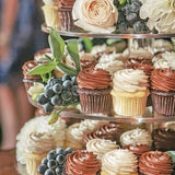 tiered cupcake station for weddings, birthdays and any other events @elloirevents