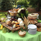outdoor cheese table for parties @elloirevents