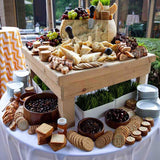 cheese tables at weddings for hire @elloirevents
