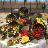 fruit display caterers for events, birthdays & weddings @elloirevents