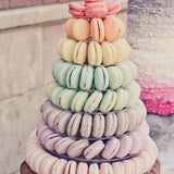 macaron stands for weddings and parties @elloirevents