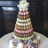 macaron stands for wedding hire @elloirevents