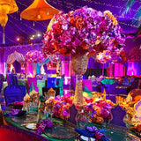 colourful morrocan style themed party decorations @elloirevents
