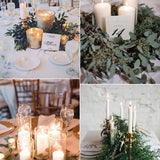 Gold Greenery table decorations events hire west midlands @elloirevents