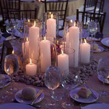 cluster candle decorations @elloirevents