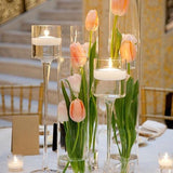 Mini flower table centrepieces @elloirevents