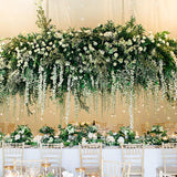 floral archway over top table @elloirevents
