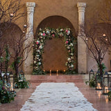 wedding ceremony archways @elloirevents