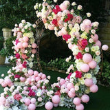 floral archways decorations @elloirevents