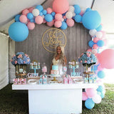 baby shower balloon archways @elloirevents