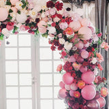 flower and balloon archways @elloirevents