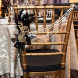 great gatsby chair covers decorations @elloirevents