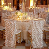 frilly chair covers @elloirevents
