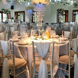 gold and white chair covers @elloirevents