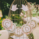 bird cage gift tables @elloirevents