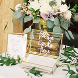 'place you cards here' Gift Tables @elloirevents