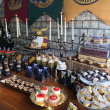 harry potter themed party food and sweetie tables @elloirevents