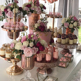 pink candy table hire @elloirevents