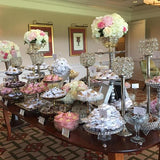 floral party sweetie tables @elloirevents