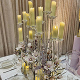 acrylic candles decorations for weddings and parties @elloirevents