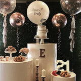 orb balloons for birthday parties and weddings @elloirevents