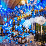 room filled with balloons events @elloirevents