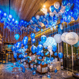 Birthday parties at restaurants filled with balloons @elloirevents