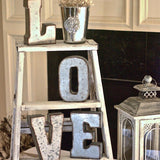 rustic love ladders for wedding hire @elloirevents