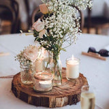 Rustic wedding table decorations @elloirevents