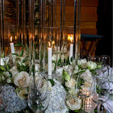 Candle lit wedding receptions @elloirevents