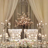 Head table english wedding decorations @elloirevents