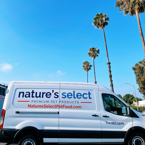 Nature's Select Pet Food Delivery