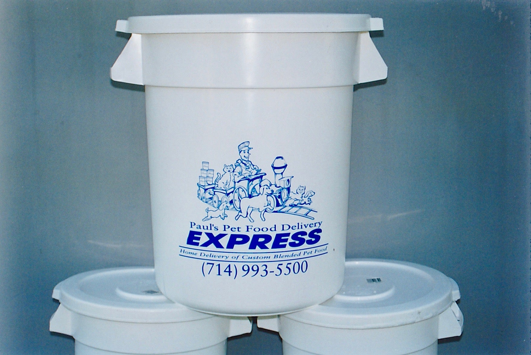 Pet Food Delivery Buckets