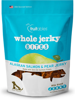 Whole Jerky Alaskan Salmon & Pear Bites