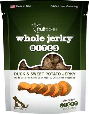 Whole Jerky Grilled Duck Bites