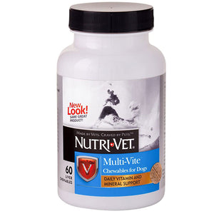 Multi Vitamin Chewable Dog Supplement - 60 count