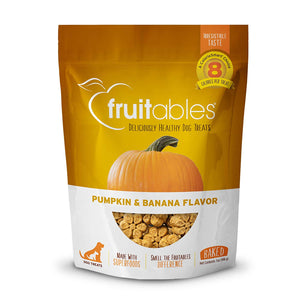 Pumpkin Banana Crunchy Dog Treats