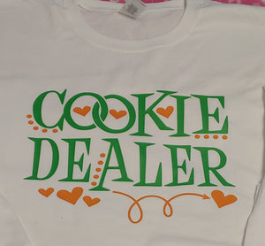 Cookie Dealer Girl Scouts Shirt