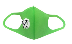 Reusable Children's Mask w/ Panda Respirator - 3 Colors Available